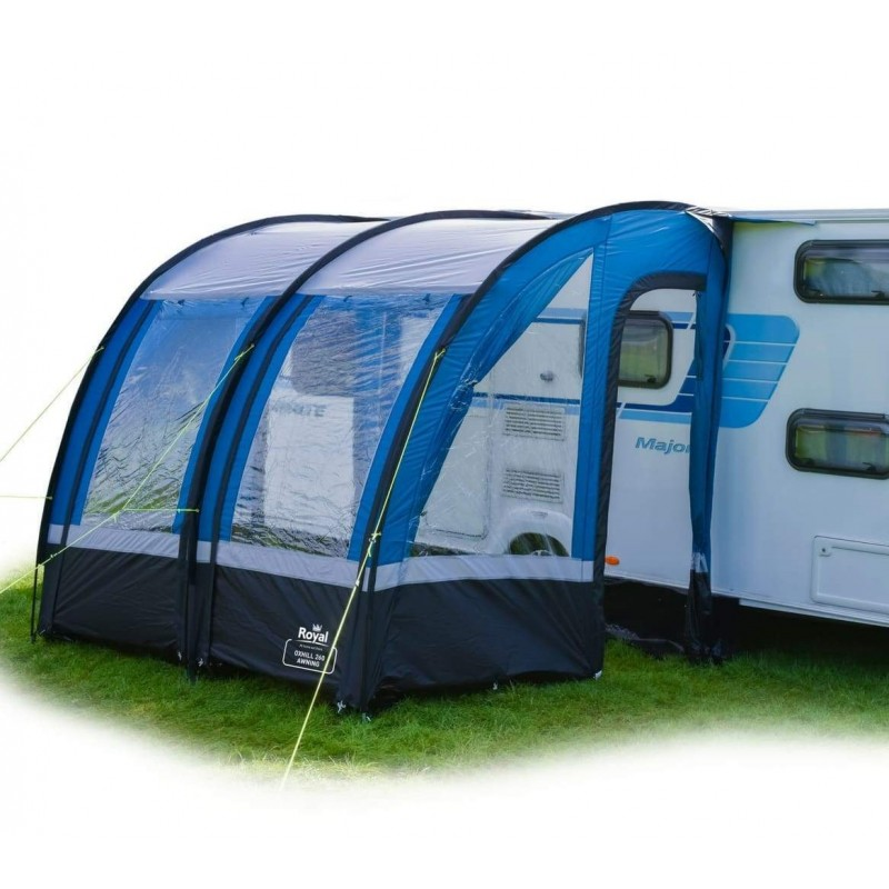 Royal Oxhill 260 Lightweight Caravan Porch Awning with ...
