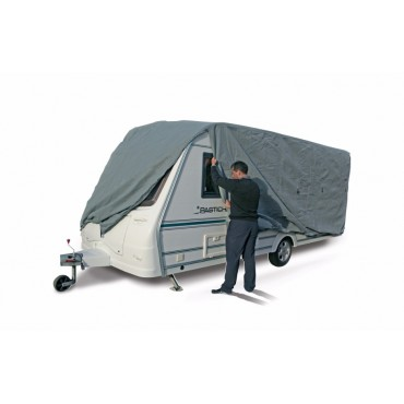 Kampa Breathable Extra Wide Caravan Cover Grey 650cm To 700cm
