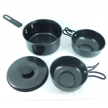 Royal 4-piece Camping Nesting Cookset