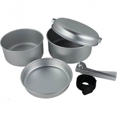 Royal Compact /& Lightweight Nesting 5-piece Aluminium Cook Set
