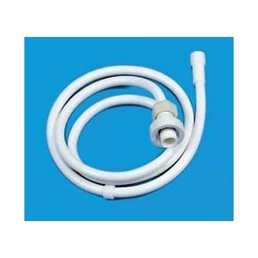 Whale Elegance White Shower Hose 1.25m