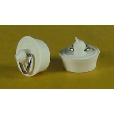 Caravan Sink/Basin Pair Of Waste Plugs -   7/8""
