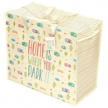 "Caravan Laundry Bag ""Home is Where you Park It"""