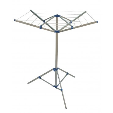 4 Arm Rotary Airer / Washing Line, Foot & Bag