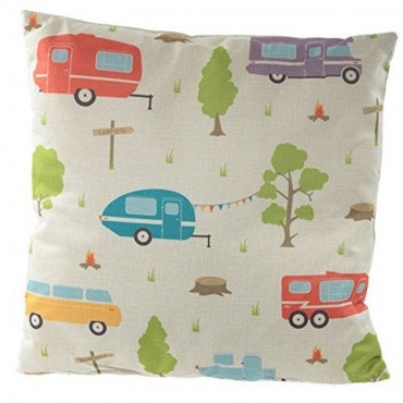Caravan Scatter Cushion 43cm x 43cm