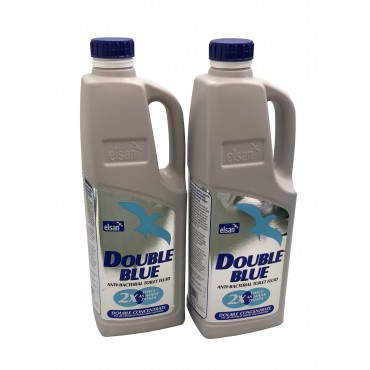 Elsan Double Concentrated Blue Toilet Chemical - 2 litre x 2