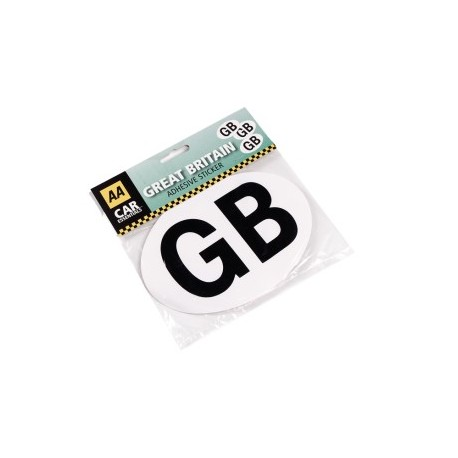 Going Abroad - You'll Need This Self Adhesive AA GB Sticker!