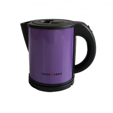 Swiss Lux Colourways 1.0 Litre Low Wattage Caravan Kettle - Purple