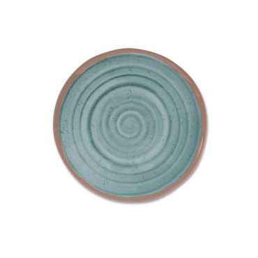 Kampa Terracotta Artisan Melamine Single Dinner Plate