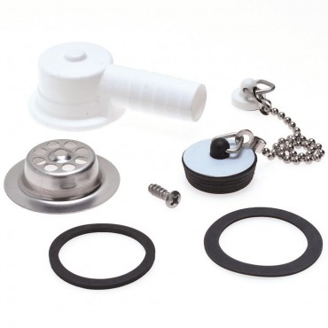 Dometic Water Waste Drain & Plug Kit