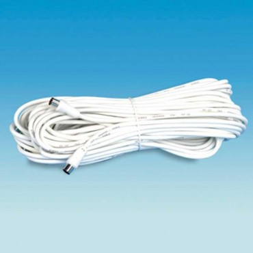 Caravan Camper Tv Co-Axial Fly Lead 25m Coax