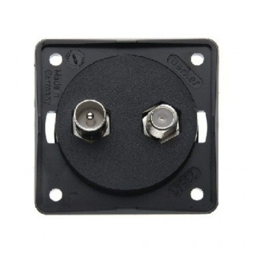 Berker TV Satellite & Terrestrial Point Socket