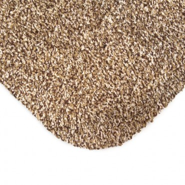 PLS Dirt Trapper Washable Door Mat / Rug - 53 x 71cm - Forest Brown