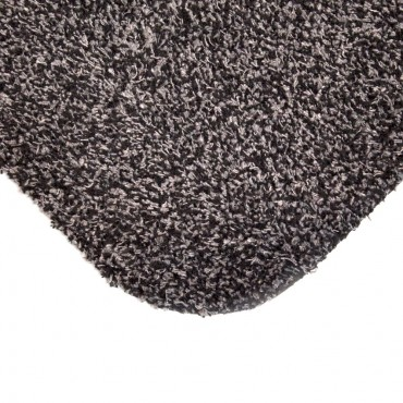 Large Door Mat / Rug - 53 x 71cm - Anthracite Fleck
