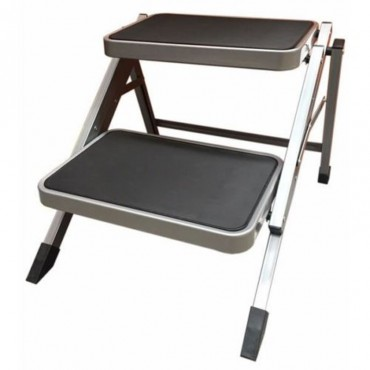 ViaMondo Sturdy & Strong Steel Folding Double Step