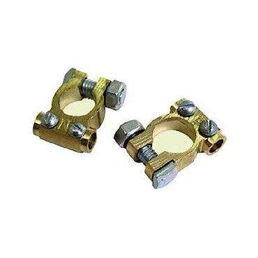 Brass Battery Terminals (Pair)