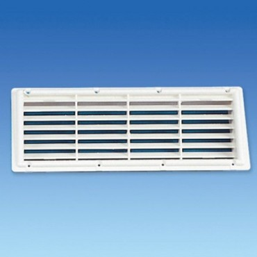 MPK Caravan / Motorhome Recess Fridge Vent - White