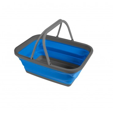 Kampa Small Folding Silicone Washing Up Bowl - Blue