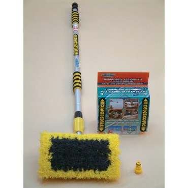 2 Metre Luxury Extending Wash Brush