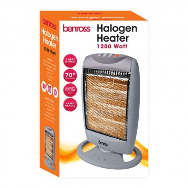 Halogen Oscillating Heater 1200W