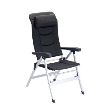 Isabella Thor Reclining Camping Chair - Dark Grey