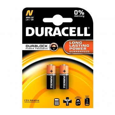 Duracell Battery LR1 Twin Pack