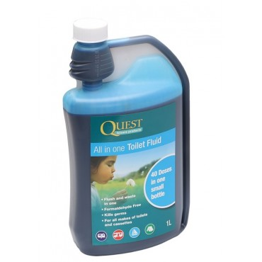 Quest All In One Toilet Fluid 1Ltr