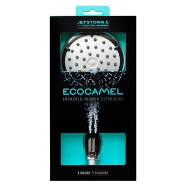 Ecocamel Jetstorm Chrome Shower Head