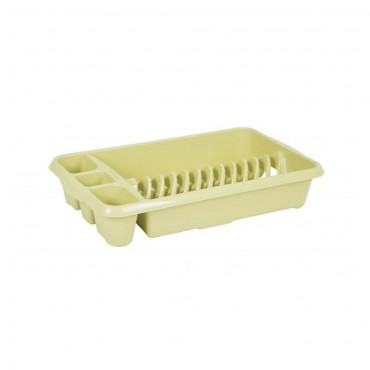Wham Casa Medium Plastic Dish Drainer - Cream