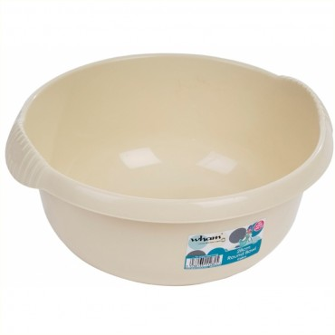 Round Washing up Bowl - Small 28cm Calico