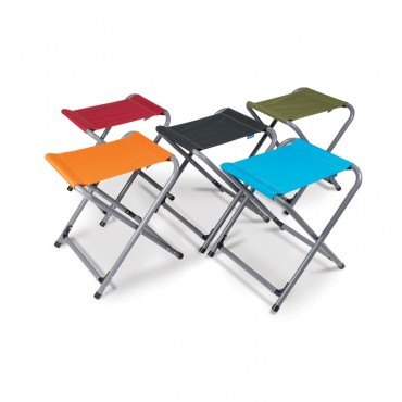 Kampa Lightweight Folding Camping Stool - Assorted Colour