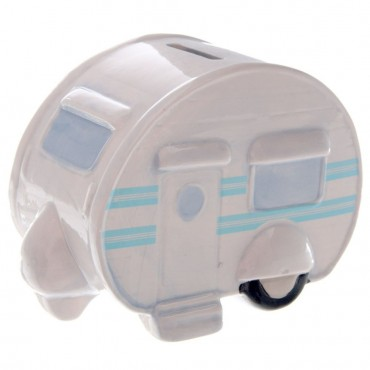 Ted Smith Ceramic Caravan Money Box