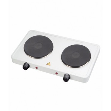 Low Wattage 1000w Twin Hot Plate Electric Hob