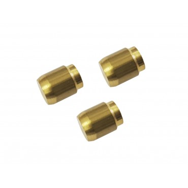 Caravan / Motorhome Truma Gas Pipe 8mm Brass Compression End Plug - Pack of 3