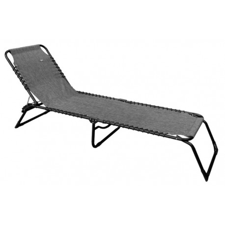 Quest Hampton Lounge Sun Lounger / Camp Bed