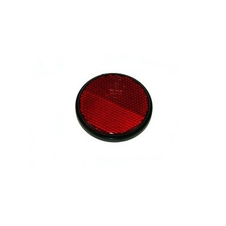 Self Adhesive Red Round Reflector