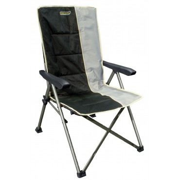 Quest Elite Autograph Cumbria Folding Camping Chair in Black and Grey
