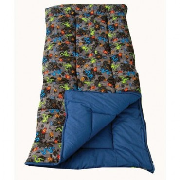SunnCamp Bugs Junior Sleeping Bag with Stuff Sac