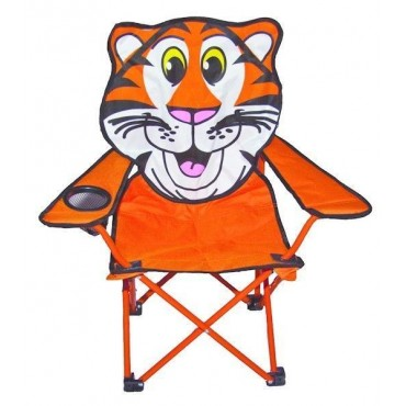 Childs Foldaway Chair - Tiger