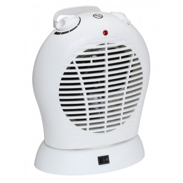 Quest Bahama Low Wattage Oscillating Fan Heater