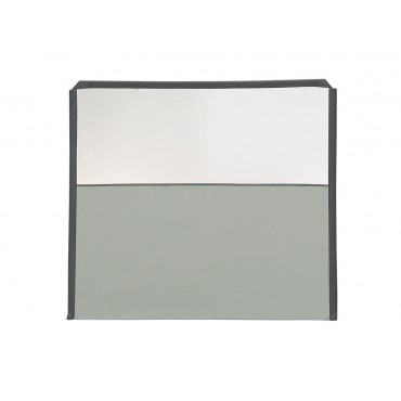 Isabella Windscreen Flex Extension Panel with Window - Grey