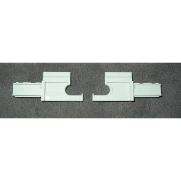 Caravan Motorhome Dometic Blind End Insert - Pack Of Two