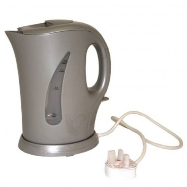 Suncamp Low Wattage 1.7 Litre Electric Kettle - Silver