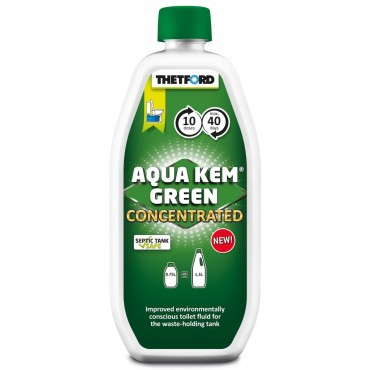 Thetford Aqua Kem Green Concentrated Toilet Formula - 0.75L
