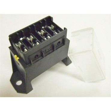 Caravan Camper 12V 4 Way Standard Blade Fuse Holder