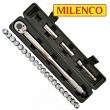 Milenco Caravan Wheel Torque Wrench Safety Set + 20 Wheel Nut Indicators