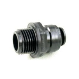 "W4 Push Fit Adaptor - 3/8"" BSP -12mm"