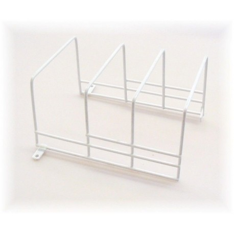 PVC Coated Wire 3 Position Plate Holder - Ideal for Caravans, etc.