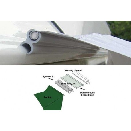 Standard Driveaway Awning Fixing Kit 6 - 6 Beading