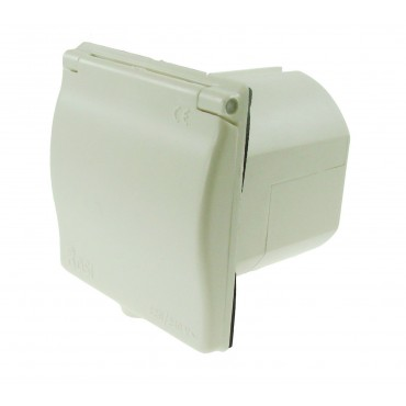 Square Mains Inlet - Ivory